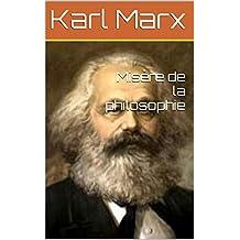Misère de la philosophie (French Edition)