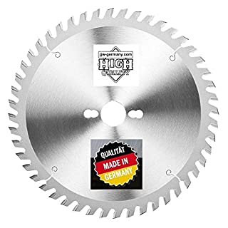 jjw-germany Sandra Carbide Circular Saw Blade 315x 30mm Z = 48WZ for Table or Circular Saw, 1Piece, 4250980600745