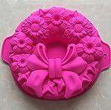 pengweiCreative Bows Bakeware Silikon Kuchenform DIY Backwerkzeuge