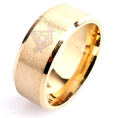 Fdnamsnr - Ring Master Massone Color Gold. Massnahmen Zur Auswahl (Macht Elf Kostüm)