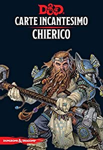 Asmodee Italia - Dungeons & Dragons 5a Edición Mapa Incantesimo Chierico, Color, 4006