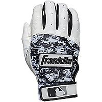 Franklin Sports MLB DIGITEK Guantes de bateo, Hombre, Gray/White/Black Digi