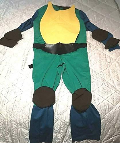 ANGELS Tartaruga Ninja Kostüm Kostüm-Kostüm Kleid Turtles (Anni 8/9/10)