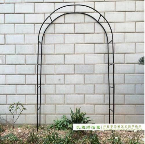 Buckdirect Worldwide ltd. Pergola Iron Garten Arch Klettergerüst Loofah Rack-Traube Rattan-Rack...