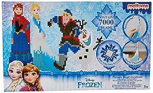 Sambro- Set 7000 Perlas fundibles Princesas Disney, (DFR15-4729)