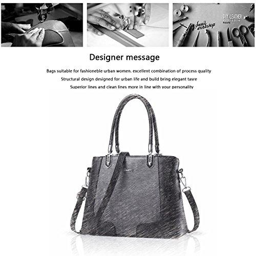 Sunas 2017 nuovo stile della borsa della borsa della signora sacchetto di spalla portatile di colore colpire Messenger vino rosso