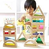 QXMEI Kinder Spielzeug Kinder Blöcke Kreative Blöcke Spielzeug Puzzle Geschenke Spielzeug Produkt Größe: 13.8Zoll * 3.3Zoll * 12.4Zoll