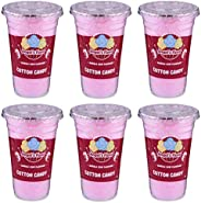 Angels Floss Cotton Candy's / Candy Floss / Buddhi Ke Baal - Bubble Gum Flavour - 30 GMS Each - Pack of 6