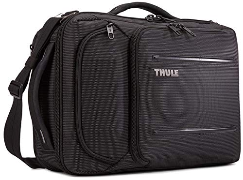 Thule Crossover 2 Convertible Laptoptasche für 39,6 cm (15,6 Zoll), unisex, 3203841, Schwarz , Einheitsgröße