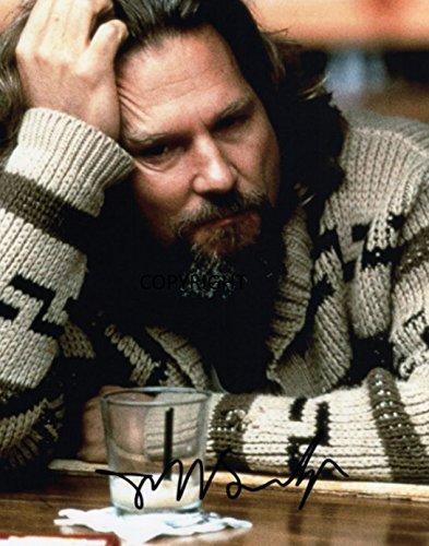 THEPRINTSHOP Limited Edition Jeff Bridges The Big Lebowski unterzeichnet Foto Autogramm signiertsigniertes