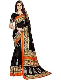 Vinayak Textiles Georgette Saree With Blouse Piece (Vtkt3048-4_Beige_Free Size)