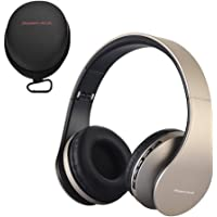 PowerLocus P1 Bluetooth Kopfhörer Kabellos, Wireless 5.0 Bluetooth Kopfhörer Over-Ear, Over Ear Kopfhörer mit mikrofon…