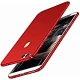 BLACKCASE 4 Cut Style Back Cover For Huawei Honor 9 Lite - (Red)