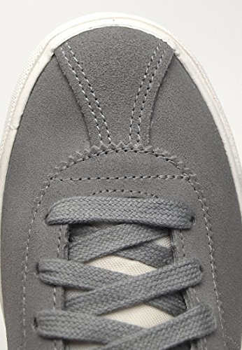 Nike , Herren Schnürhalbschuhe Grey/Fucsia