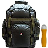 #10: Donex Solid 60 L Climate proof Attachi style Hiking, Rucksack Backpack Green with free Trueware Sipper