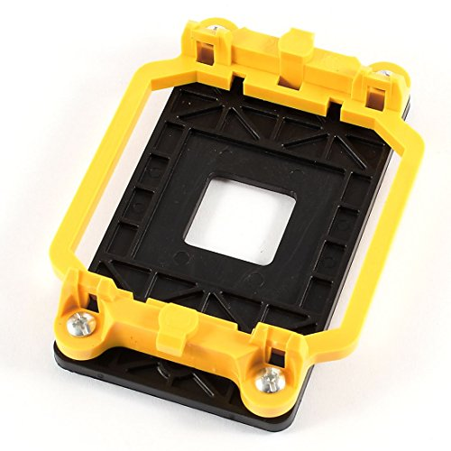 Water & Wood Black Yellow AMD CPU Fan Mount Bracket Holder Base for AM2 940 Socket
