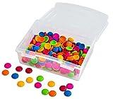 Betzold Muggelsteine, Ø 20 mm, 250 Stück, in Verschiedenen Farben, Spiel-Material Muggel-Steine Kinder bunt