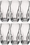 Bormioli Rocco Sorgente Tumbler Glasses - 460ml (16oz) - Set of 6