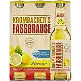 Krombacher's Fassbrause Zitrone Mehrweg (6 x 0.33 l)