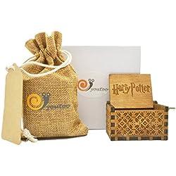 Caja de música de madera clásica en estilo retro de Youtoo Talla:Harry Potter Melodie