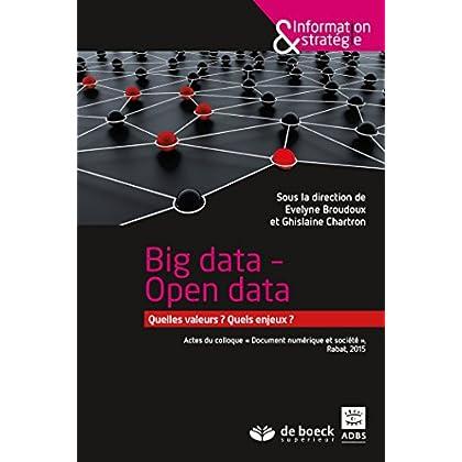 Open data (Information & stratégie)