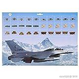 AlxShop-AlxShop-Tortenständer Air Force, 2 Stück mit 30 A