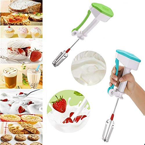 Boss Power Free Plastic Hand Blender/Mixer for Kitchen, Milk, Coffee, Lassi, Egg Beater Blenders, Buttermilk (Multicolor)