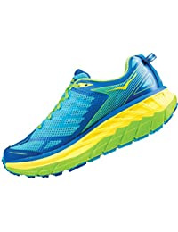 Hoka One One Stinson ATR 4 Running Shoes Men Blue Atoll blazing Yellow 2017  Scarpe da corsa dc872a67b1a