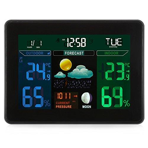 Inalámbrica Estación Meteorológica Digital con 2 Sensor Inalámbric
