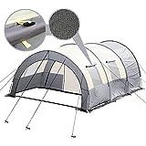 Tunnelzelt Automatik Zelt Campingzelt für 4 Personen, Gruppenzelt inkl. Tragetasche