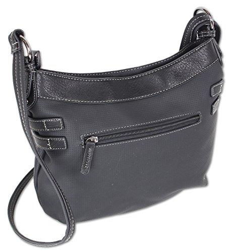 bec43995f0362 Jennifer Jones Taschen Damen Damentasche Handtasche Schultertasche  Umhängetasche Tasche klein Crossbody Bag hellgrau   jeans- ...