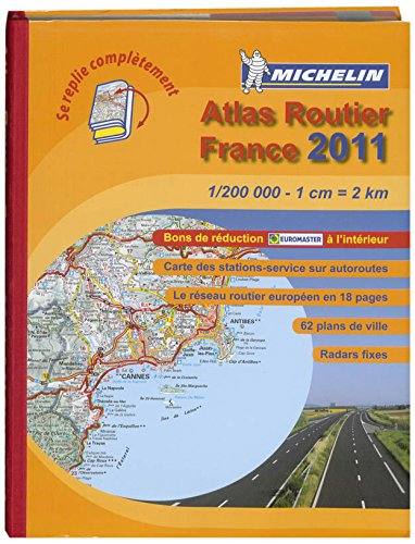 Atlas Routier France 2011 (ATLAS(SEN) MICHELIN)