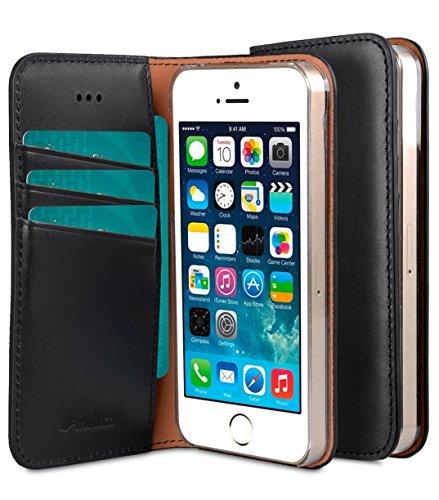 Apple Iphone SE/5S/5 Melkco Herman Serie Premium Leder-Buch-Art-Fall mit Premium Leder Handcrafted Guter Schutz, Premium-Gefühl (I Phone 5s Fällen Mit Bücher)