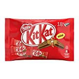 NESTLÉ KITKAT MINI mini snack con wafer ricoperto di cioccolato al latte 18 snack da 16,6g - [confezione da 6]