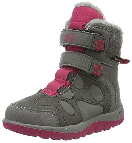 Jack Wolfskin Mädchen Providence Texapore High VC G Trekking-& Wanderstiefel, Pink (Azalea Red 2081), 33 EU