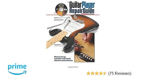 guitar player repair guide amazon co uk dan erlewine books rh amazon co uk Guitar Repair Tools Guitar Repair Tool Kit