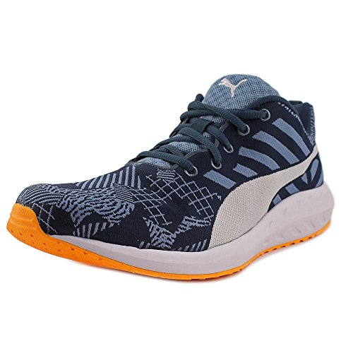 Puma Flare Woven Synthetik Turnschuhe Blue Wing Teal-Bh-Op-White