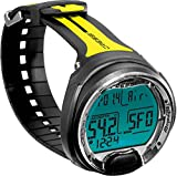 Cressi Leonardo Dive Computer - Black/Yellow