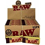Raw Rolling Paper- Filter Tips 50 Booklets