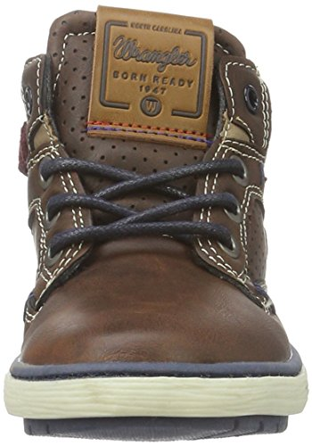 Wrangler Jungen Oklahoma Jr High-Top Braun (94 Coffee)