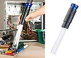 AGT Staubsauger-Düse: Universal-Staubsauger-Aufsatz mit 30 flexiblen Saug-Röhrchen (Staubsauger Aufsatz Pinsel)
