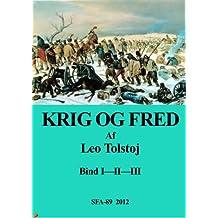 Krig og fred (Danish Edition)