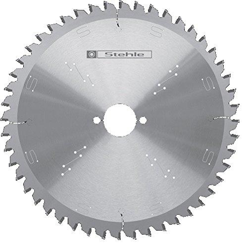 Stehle 58100233 Kapp- und Gehrungs-Kreissägeblatt 260x2,5x30 Z= 60 negativer Wechselzahn Hartmetall