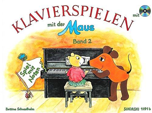 Klavierspielen mit der Maus. Band 2: Spiel mit Noten. Mit CD