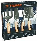 Truper 306426Garten-Werkzeug-Set mit Hacke, Kultivator, umgepflanzt, Maurerkelle