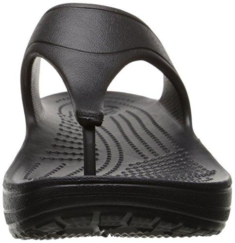 Crocs Sloane Platform, Sandales - Femme Noir (Black)