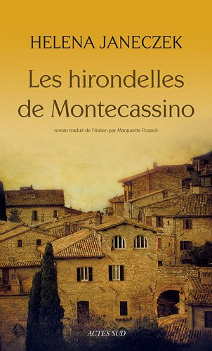 Les hirondelles de Montecassino par Helena Janeczek