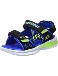Skechers Boys' 90558l Open Toe Sandals