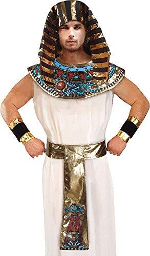 Herren ägyptisch Verkleidung Kostümparty König Ägypter Outfit Pharao Satz Kostüm (Herren Kostüm ägypter)