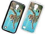 Handyhülle für Samsung Galaxy-Serie selbst gestalten * eigenes Foto * Schutz mit eigenem Bild, Farbe:Schwarz, Handymodell:Samsung Galaxy S4 Mini